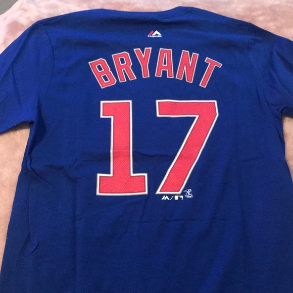 e46a98fe9b9 ... top quality kris bryant cubs large youth t shirt jersey 17 1e8d8 8c690
